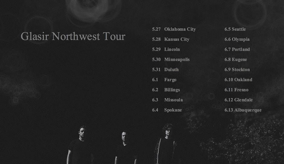 glasir northwest tour poster