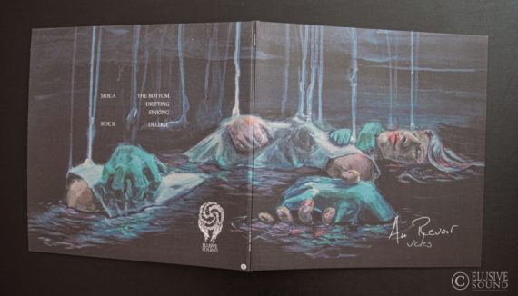 Gatefold back